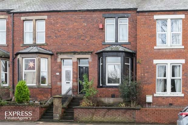 2 Bedrooms Terraced House for sale in Newtown Road, Carlisle, Cumbria