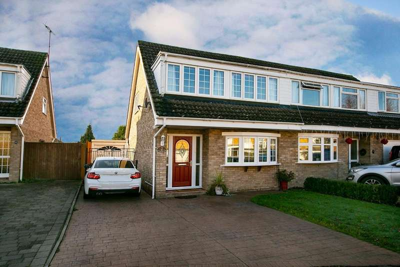 3 Bedrooms Semi Detached House for sale in Launcestone Close, Earley, Reading