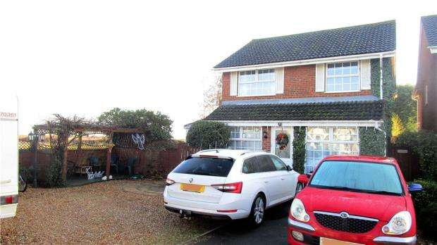 5 Bedrooms Detached House for sale in Hotch Croft, Cranfield