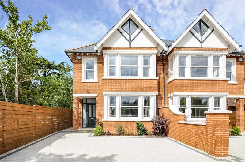 5 Bedrooms Semi Detached House for sale in Coombe Lane West, Kingston Upon Thames