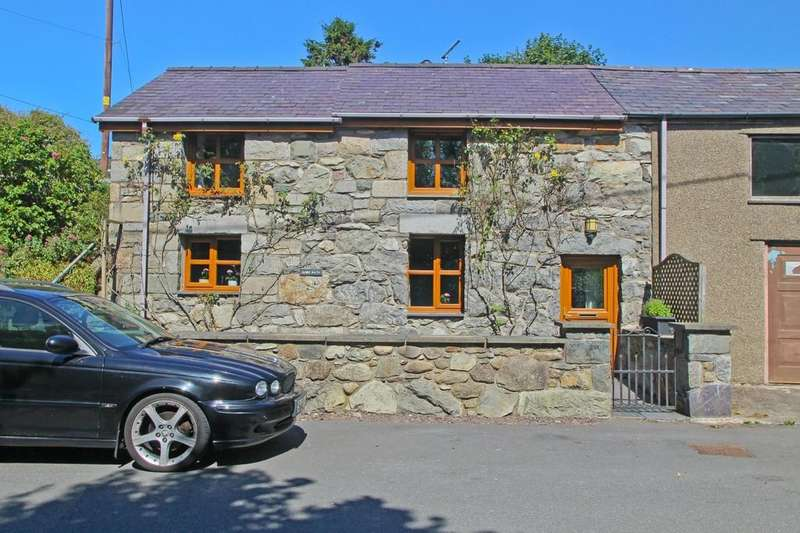 2 Bedrooms Cottage House for sale in Brynrefail, Caernarfon, North Wales