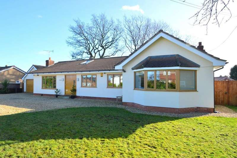 4 Bedrooms Detached Bungalow for sale in Pickmere Lane, Nr Knutsford, CW9