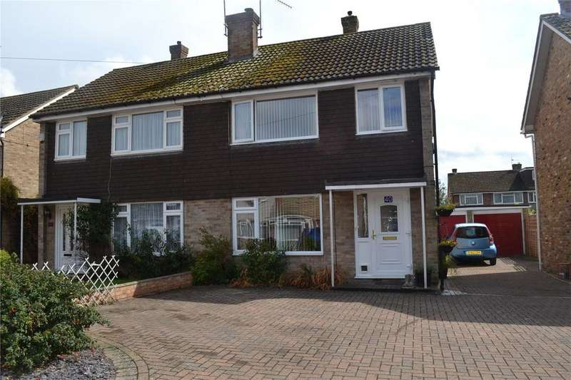3 Bedrooms Semi Detached House for sale in Chaseside Avenue, Twyford, Berkshire, RG10