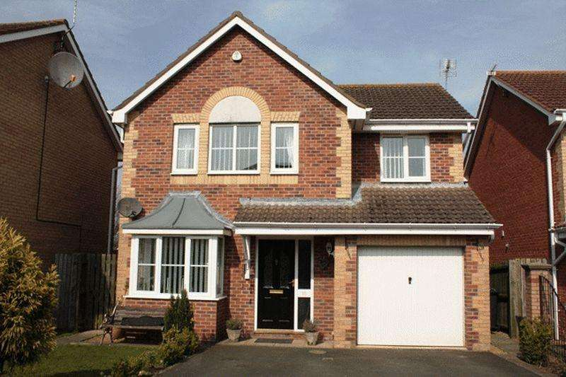 4 Bedrooms Detached House for sale in Carlow Drive, West Sleekburn - Four Bedroom Detached House with rivers views - reduced to 199,000