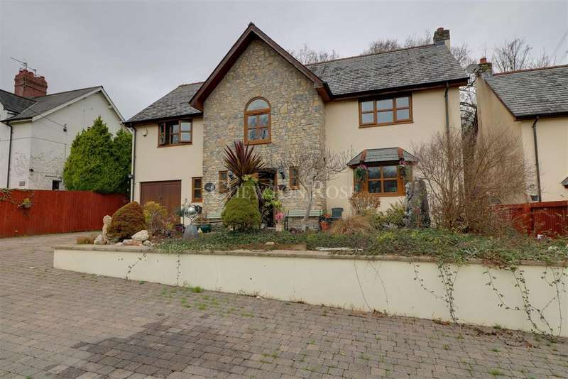 4 Bedrooms Detached House for sale in Coedkernew, Newport