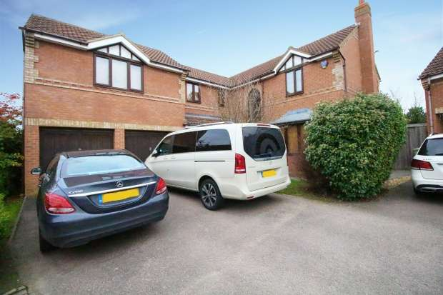 5 Bedrooms Detached House for sale in Quilter Meadow, Milton Keynes, Buckinghamshire, MK7 8QD