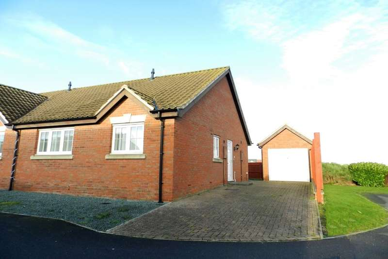 2 Bedrooms Semi Detached Bungalow for sale in Grosvenor Road, Mablethorpe, LN12