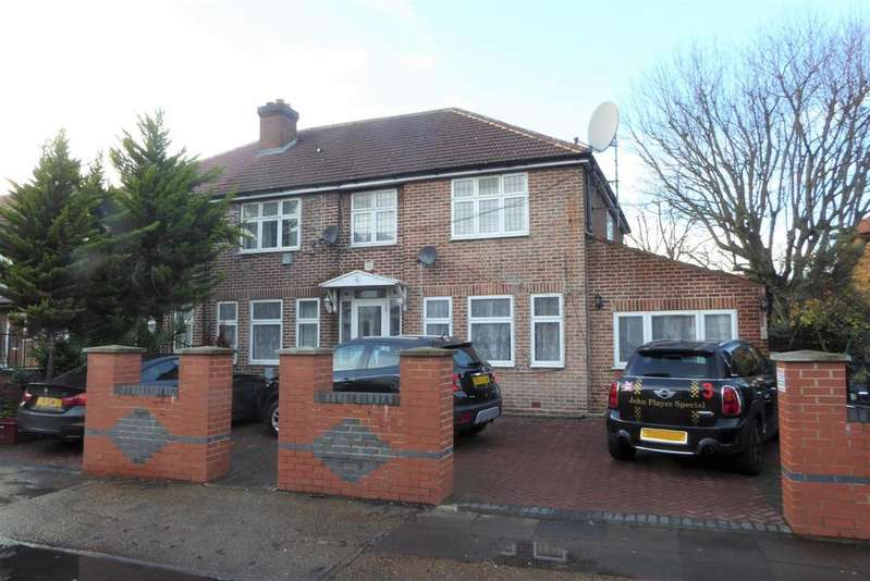 5 Bedrooms Semi Detached House for sale in Vicarage Farm Road, Hounslow