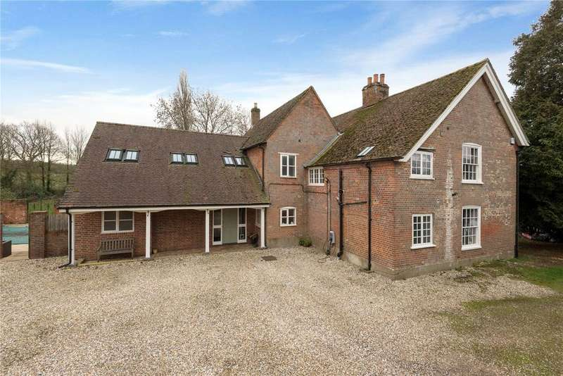 6 Bedrooms Detached House for sale in Ashfield, Romsey, Hampshire, SO51
