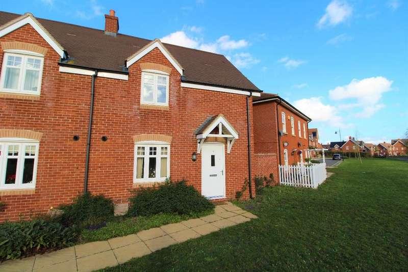 3 Bedrooms Semi Detached House for sale in Downham Close, Great Denham MK40