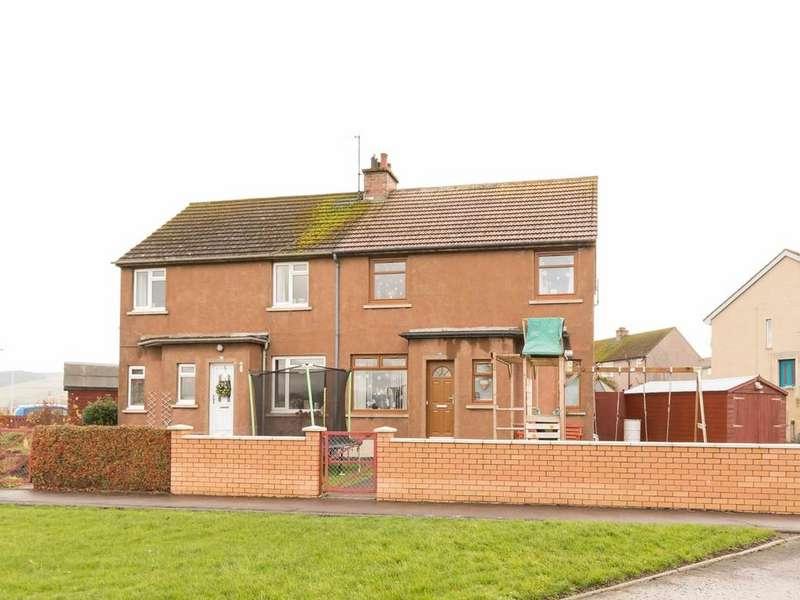 3 Bedrooms Semi Detached House for sale in Robertson Crescent , Newburgh, Cupar