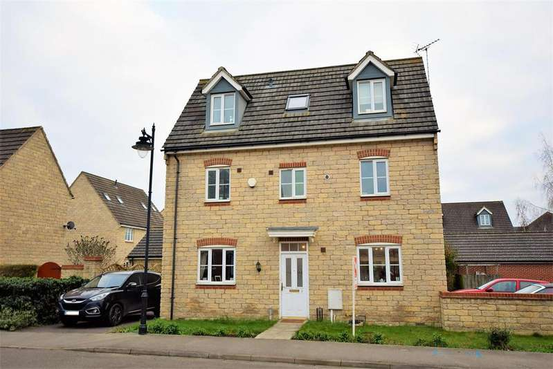 5 Bedrooms Detached House for sale in Marigold Avenue, Bourne