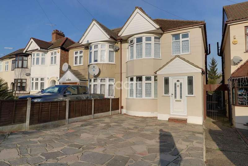 3 Bedrooms Semi Detached House for sale in Gorseway, Rush Green, Romford