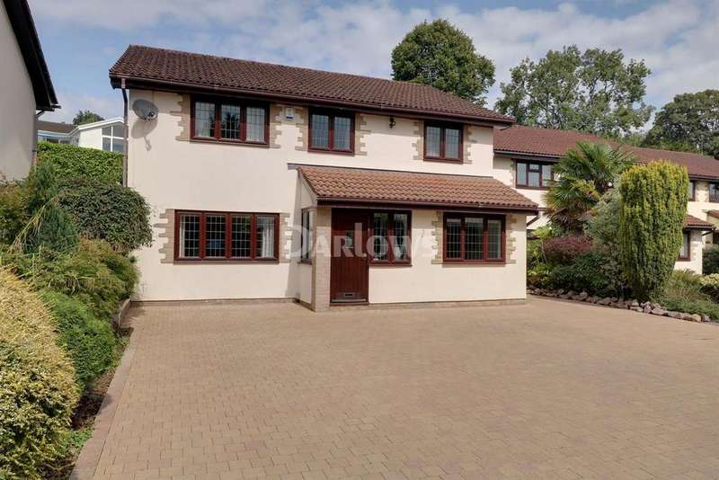 4 Bedrooms Detached House for sale in Longleat Close, Lisvane, Cardiff, CF14