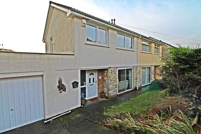 3 Bedrooms Semi Detached House for sale in Sycamore Drive, Trealaw, Tonypandy, Rhondda Cynon Taff, CF40 2PZ