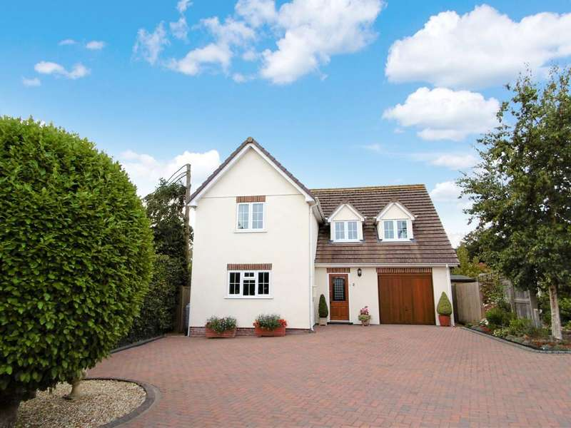 4 Bedrooms Detached House for sale in Springmead, Colyford Road