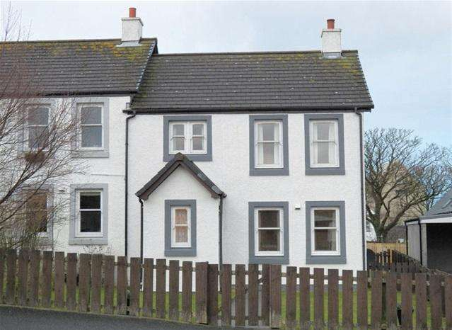 3 Bedrooms Semi Detached House for sale in 106 Flora Street, Bowmore, Isle of Islay, PA43 7JX