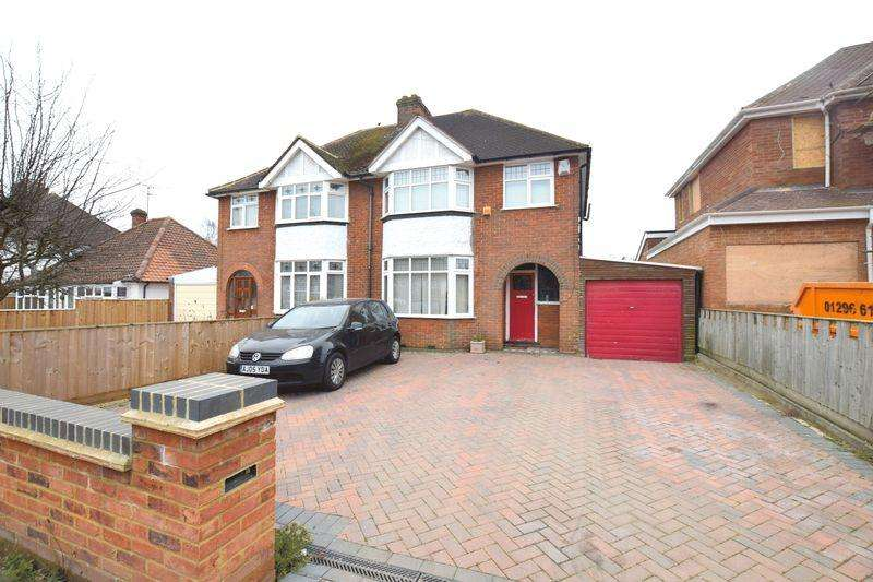 3 Bedrooms Semi Detached House for sale in Tring Road, Aylesbury