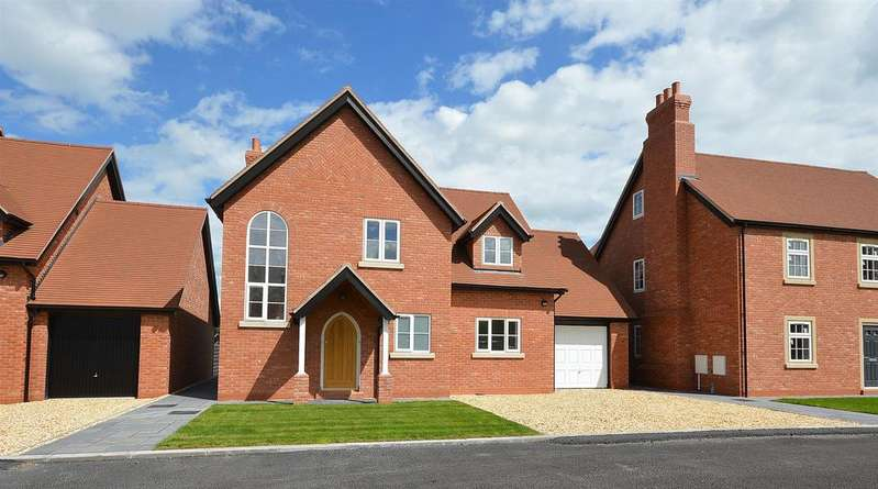 4 Bedrooms Detached House for sale in Ashley Close, Winterley, Sandbach