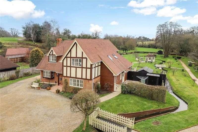4 Bedrooms Detached House for sale in Salisbury Road, Sherfield English, Romsey, Hampshire, SO51
