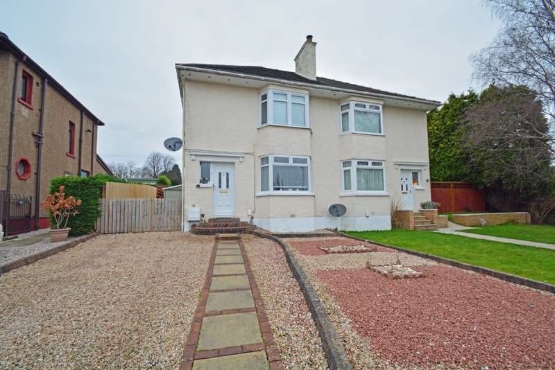 3 Bedrooms Semi Detached House for sale in Broomlea Crescent, Inchinnan, PA4