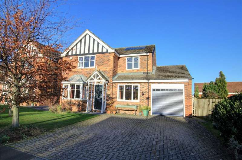 4 Bedrooms Detached House for sale in Castle Hills, Castleside, Consett, DH8