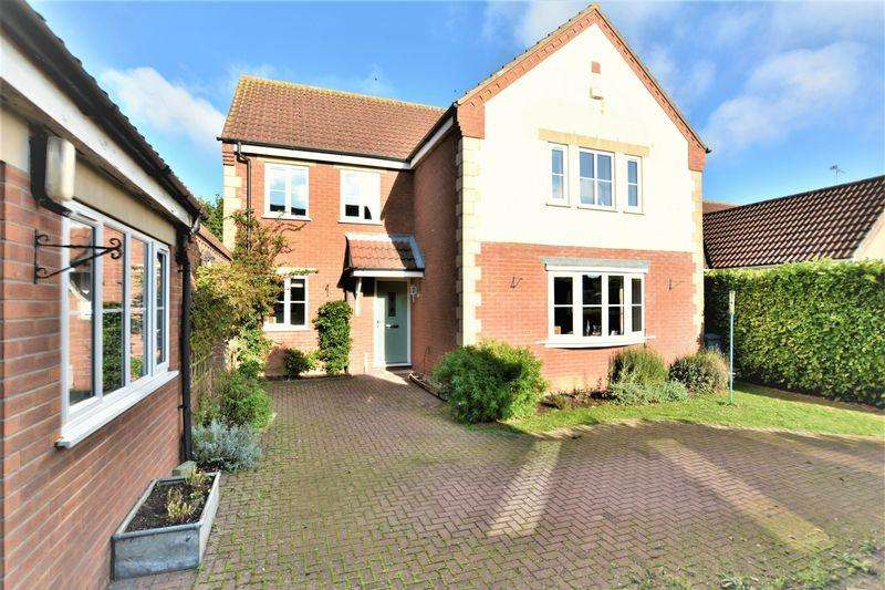 4 Bedrooms Detached House for sale in The Alders, Scothern, Lincoln