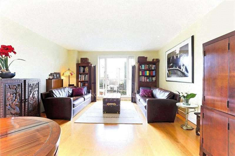 2 Bedrooms Apartment Flat for sale in Berkeley Tower, 48 Westferry Circus, Canary Wharf, E14