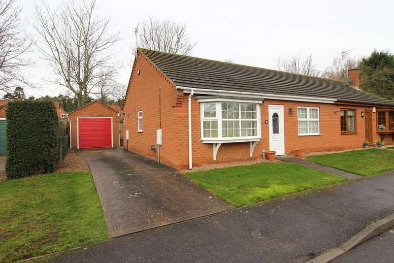 2 Bedrooms Semi Detached Bungalow for sale in Bramley Court, Gainsborough