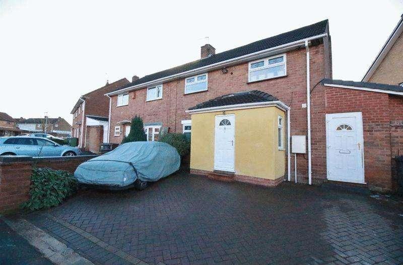 3 Bedrooms Semi Detached House for sale in Abingdon Road, Wolverhampton