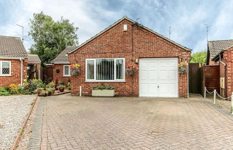 3 Bedrooms Detached Bungalow for sale in Mayfield Close, Pinchbeck