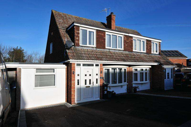 3 Bedrooms Semi Detached House for sale in Parkwood Close, Whitchurch, Bristol, BS14