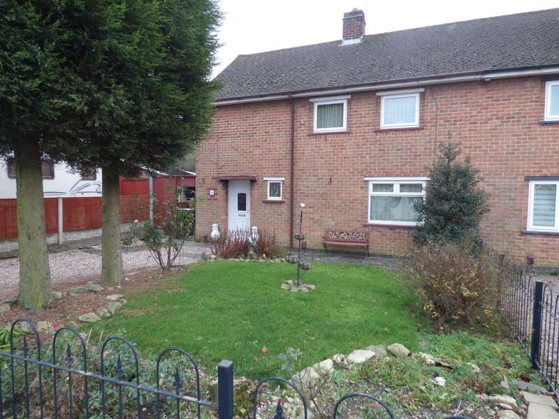 3 Bedrooms Semi Detached House for sale in Bradgate Drive, Coalville LE67