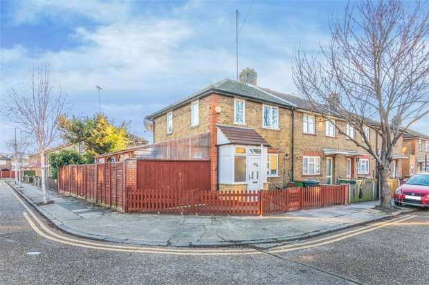 2 Bedrooms End Of Terrace House for sale in St Clair Road, Plaistow, London