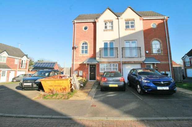 4 Bedrooms Semi Detached House for sale in Hanworth Close, Leicester, Leicestershire, LE5 1UU