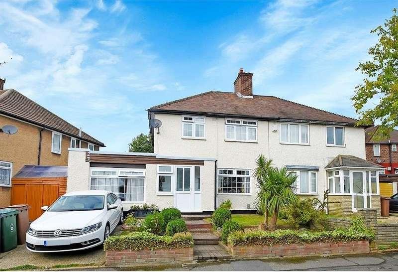 4 Bedrooms Semi Detached House for sale in Wittenham Way, London