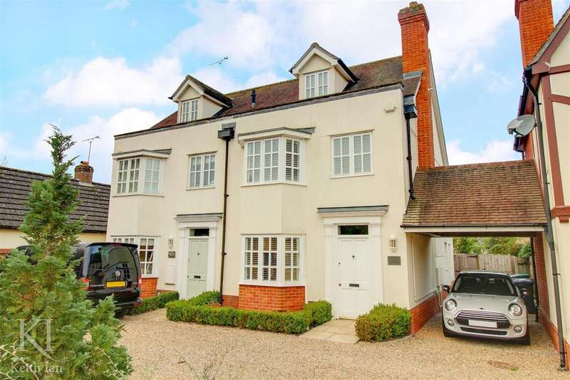 4 Bedrooms Semi Detached House for sale in Much Hadham - Chain free