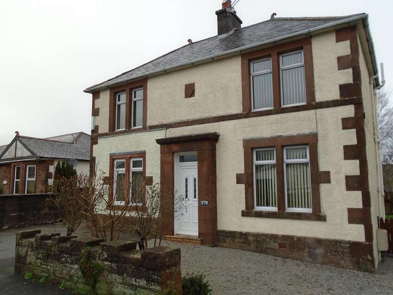 3 Bedrooms Detached Villa House for sale in 279 Annan Road, Dumfries DG13HF