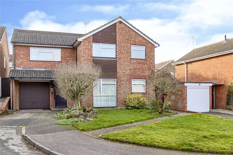 5 Bedrooms Detached House for sale in Tawfield, Bracknell, Berkshire, RG12