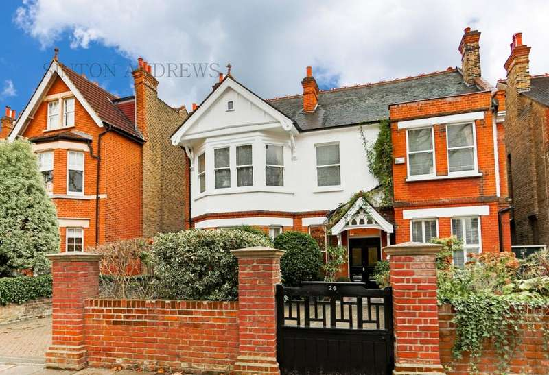 6 Bedrooms Detached House for sale in Woodville Gardens, Ealing, W5