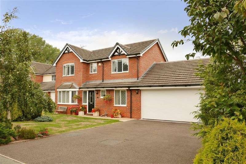 4 Bedrooms Detached House for sale in Heron Close, Ellesmere, SY12