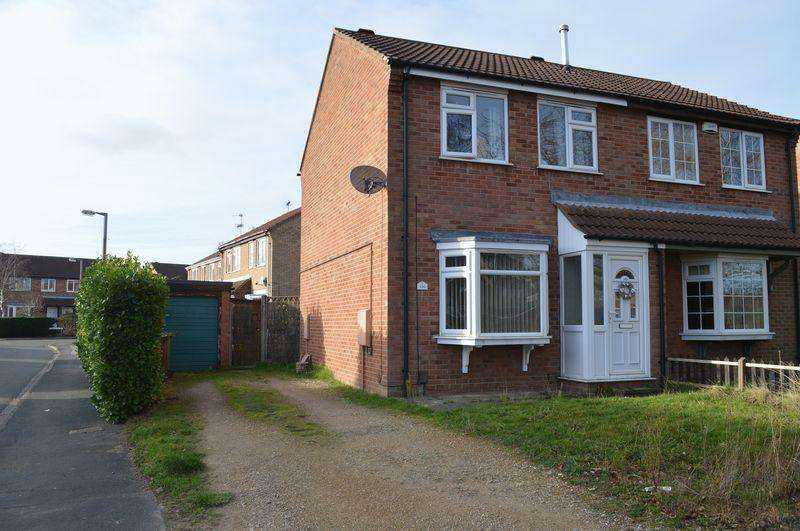 2 Bedrooms Semi Detached House for sale in Fulmar Road, Lincoln