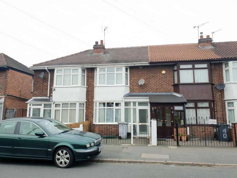 3 Bedrooms Town House for sale in Rosedale Avenue , Rushey Mead, Leicester