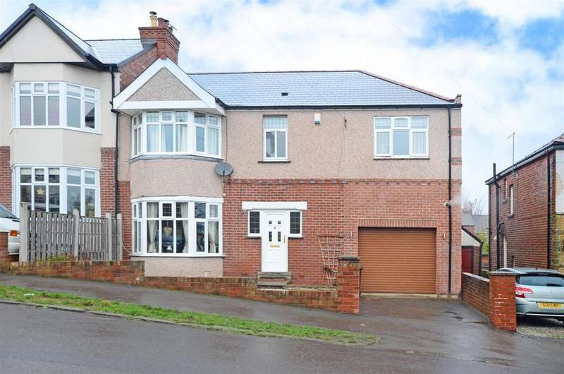 4 Bedrooms Semi Detached House for sale in Huntley Road, Sheffield