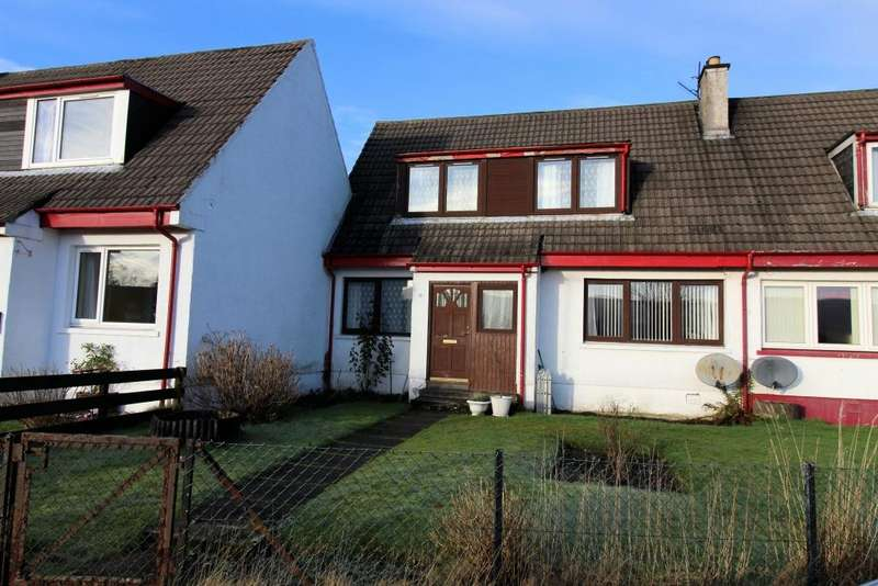 3 Bedrooms Semi Detached House for sale in 3 Upper Riochan, Inveraray, PA32 8UR