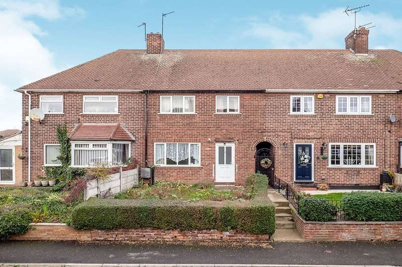 3 Bedrooms Semi Detached House for sale in Manville Close, Nottingham, NG8