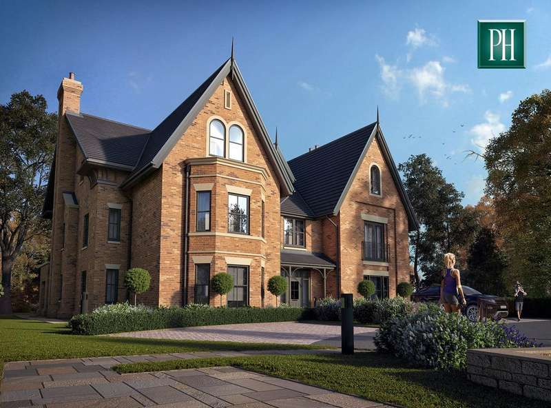 3 Bedrooms Apartment Flat for sale in Halecroft House, Hale Road, Hale Barns