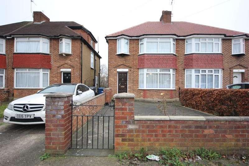 3 Bedrooms Semi Detached House for sale in Montrose Avenue, Edgware HA8