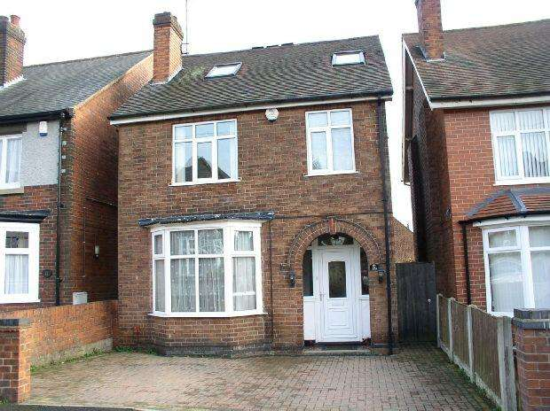 4 Bedrooms Detached House for sale in Wycliffe Road, Alfreton