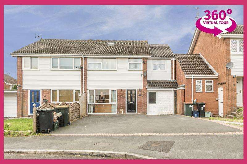 4 Bedrooms Semi Detached House for sale in Hazel Walk, Newport - REF# 00005957 - View 360 Tour at http://bit.ly/2Rt1XZt
